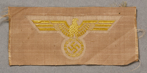 German WWII Navy Tropical Breast Eagle