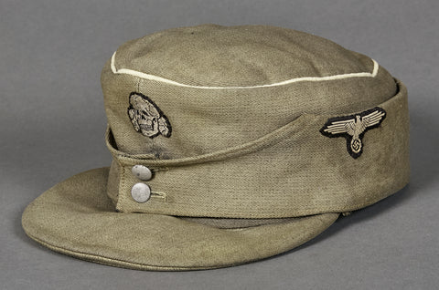 German WWII SS Officer's M-43 Cap