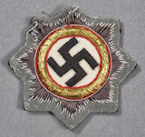 German WWII Cloth German Cross in Gold