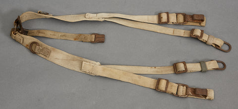 "German WWII Tropical ""Y"" Straps"