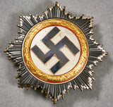 German WWII Cased German Cross in Gold by Steinhauer and Luck