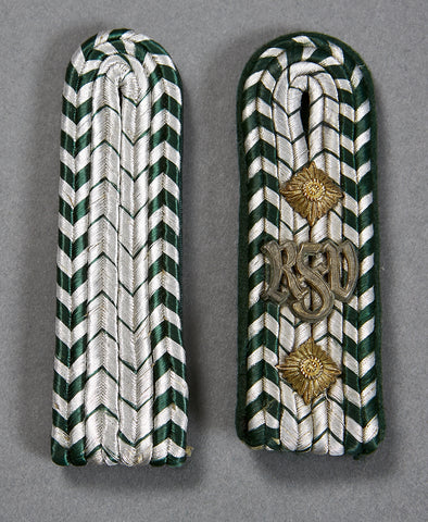 Mismatched Set of Customs Official's Slip-On Shoulder Boards