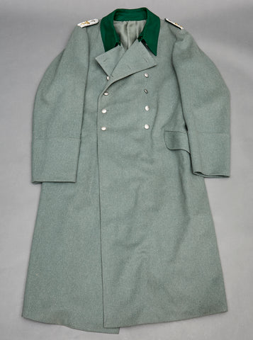 WWII German Customs Official Great Coat