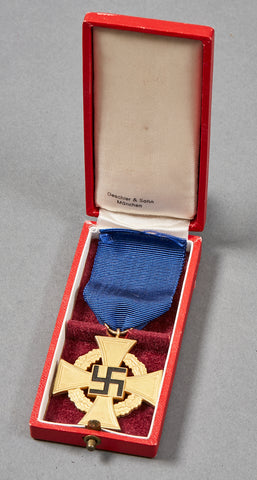 Third Reich Cased 40 Year Faithful Service Award