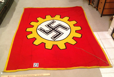 WWII German DAF Factory Honor Flag