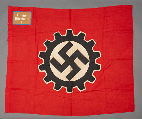 Third Reich DAF Flag