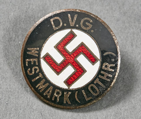 NAZI Membership Pin for Westmark