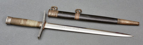 German WWII Hitler Youth Leader's Dagger by E & F Hörster