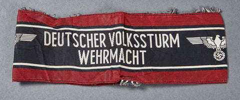 German WWII Volkstrum Armband