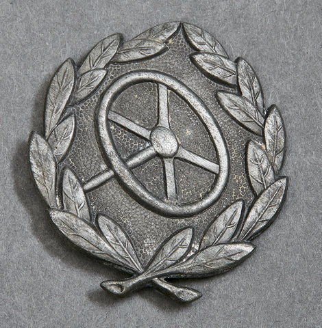 Driver Qualification Badge in Silver