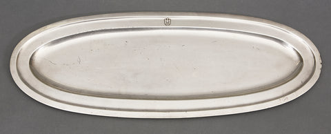Third Reich Silver Plated Serving Platter