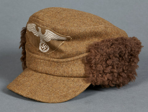 German WWII Eastern People's Winter Field Cap