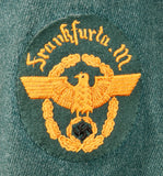 WWII German Gendarmerie Service Tunic and Breeches