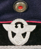 German WWII Fire-Police Official's Visor's Cap