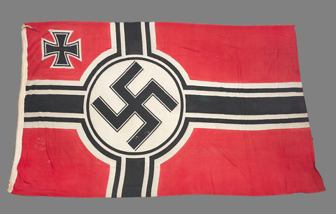 WWII German Battle Flag for Use by the Kriegsmarine