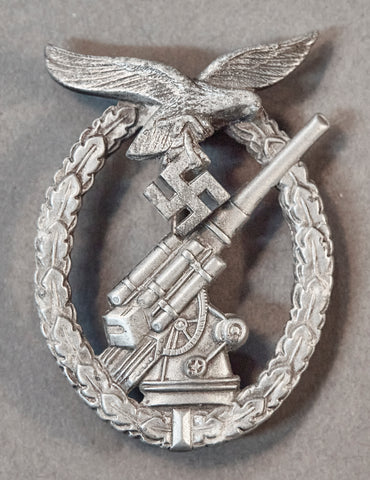 German WWII Luftwaffe Flak Badge