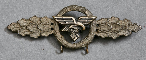 Luftwaffe Flying Clasp in Gold for Transport and Glider Squadrons