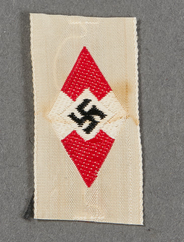 Third Reich Hitler Youth Cap Insignia