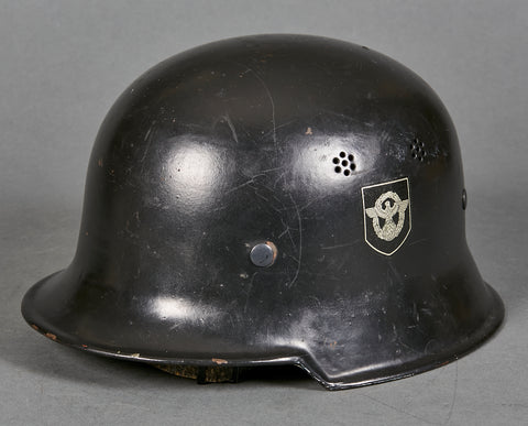 Model 1934 Fire Police Double Decal Helmet