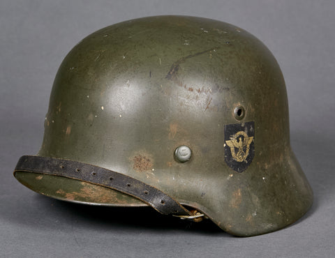WWII German WWII Model 1935 Combat Police Helmet