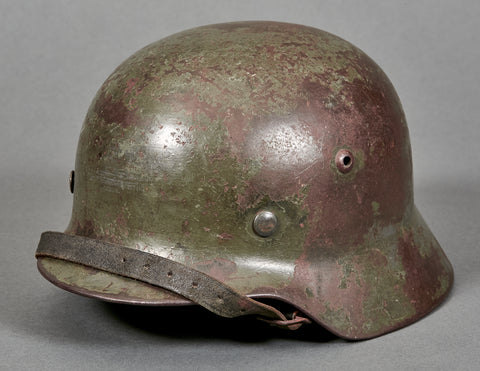 WWII German Army Model 1935 Reissue Combat Helmet