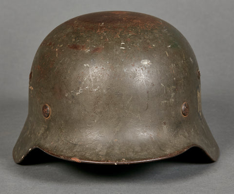 WWII German Army Model 1935 Reissue Army Single Decal Helmet