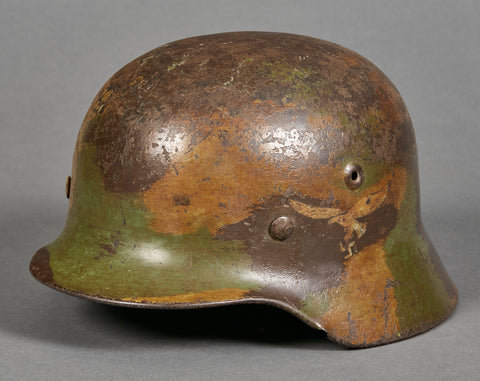 Model 1940 Luftwaffe Single Decal Camouflage Helmet