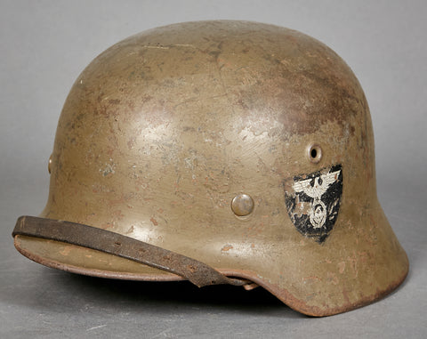 Rare Model 1940 Re-Issue RAD Helmet