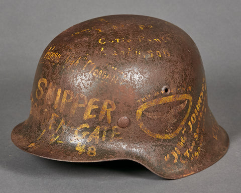 WWII German Luftwaffe Model 1942 Souvenir Helmet