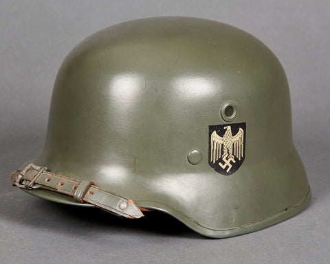 WWII German Army Model 1935 type Lightweight Parade Helmet