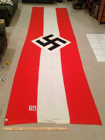 WWII German Hitler Youth Organization Banner