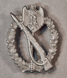 German WWII Silver Infantry Assault Badge by GWL