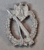German WWII Silver Infantry Assault Badge by Adolph Scholze