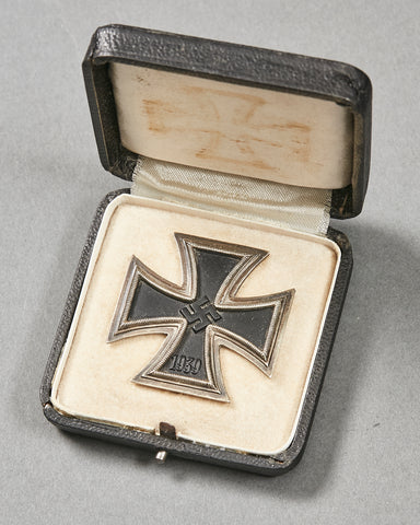 German WWII Cased Iron Cross First Class