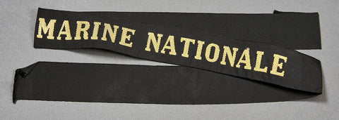 "WWI ""Marine Nationale"" Kriegsmarine Tally"