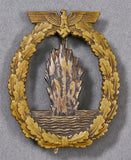 German WWII Mine Sweeper's Badge by Schwerin
