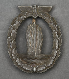WWII German Kriegsmarine Minesweeper Badge by R.K.