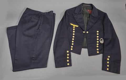 WWII German Kriegsmarine Parade Tunic and Trousers
