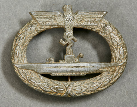 WWII German Kriegsmarine U Boat Badge by GWL