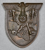 "WWII German ""Krim"" Shield"