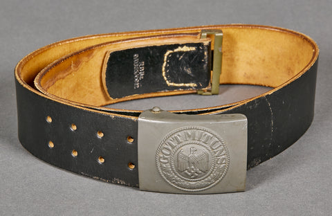 German WWII Army Belt and Buckle Set
