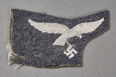 WWII German Luftwaffe Officer Cut Out Breast Eagle