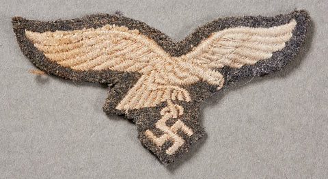 German WWII Luftwaffe Eagle from M43 or Side Cap