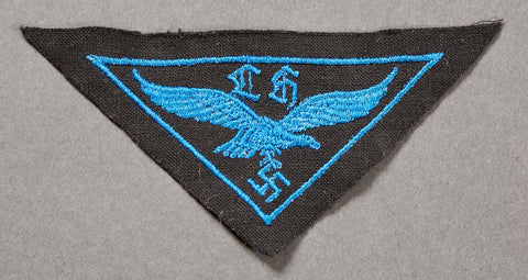 German WWII Luftwaffe Helper's Breast Eagle