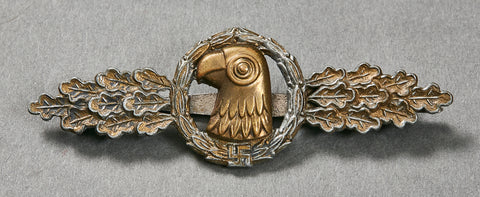 German WWII Reconnaissance, Air/Sea Rescue, and Meteorological Operational Flying Clasp in Gold