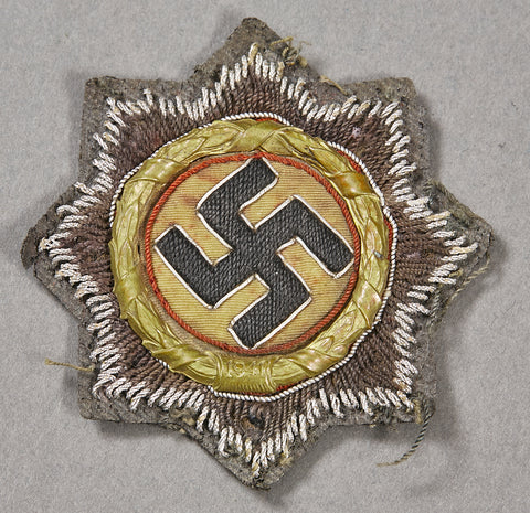 German WWII German Cross in Cloth