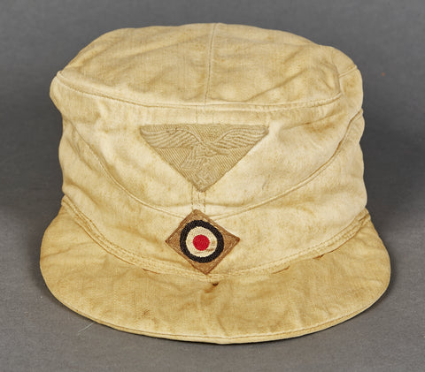 German WWII Luftwaffe Tropical Field Cap