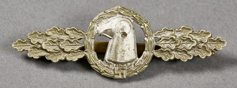 WWII German Luftwaffe Operational Flying Clasp for Reconnaissance, Air/Sea Rescue and Meteorological Squadrons in Silver