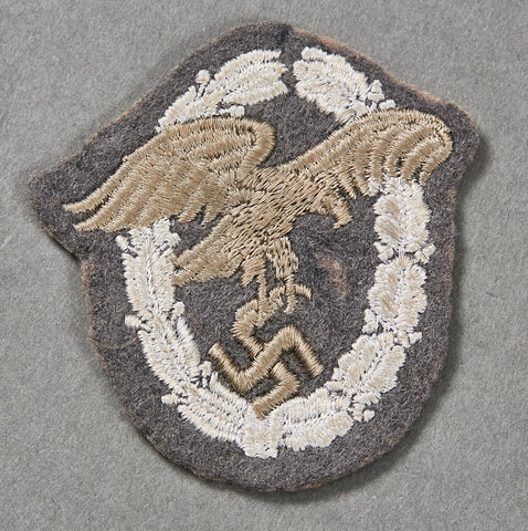 German WWII Observers Award in Cloth