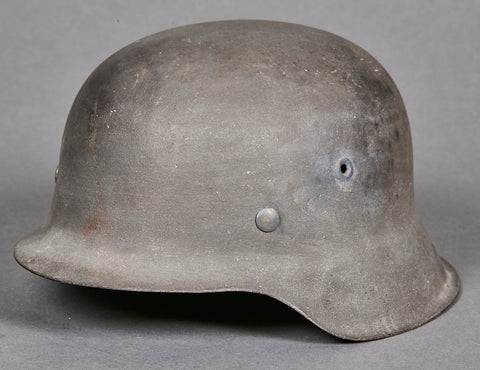 German WWII Model 1942 Combat Helmet